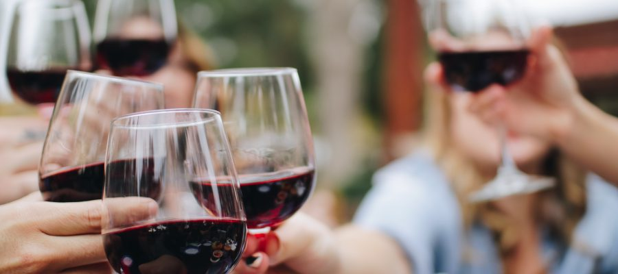 Gläser Alkohol