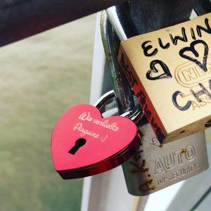 Der perfekte Ort für mein Liebesschloss - Meine Glitzerbrücke Rotterdam